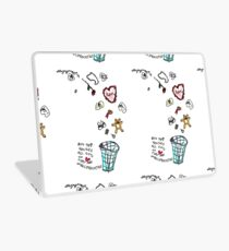 'This Bin houses All Gifts of Love that are Unreciprocated' Laptop Skin