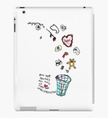 'This Bin houses All Gifts of Love that are Unreciprocated' iPad Case/Skin