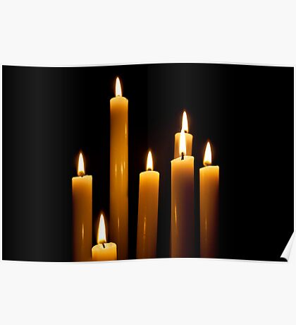 Candle Power Poster