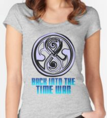 Dr Who - Seal of Rassilon Women's Fitted Scoop T-Shirt