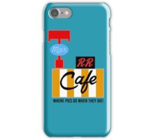 RR Cafe (Twin Peaks) iPhone Case/Skin
