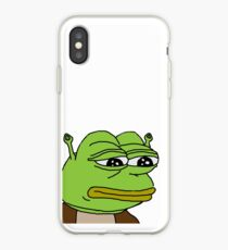 Shrek Pepe iPhone Case