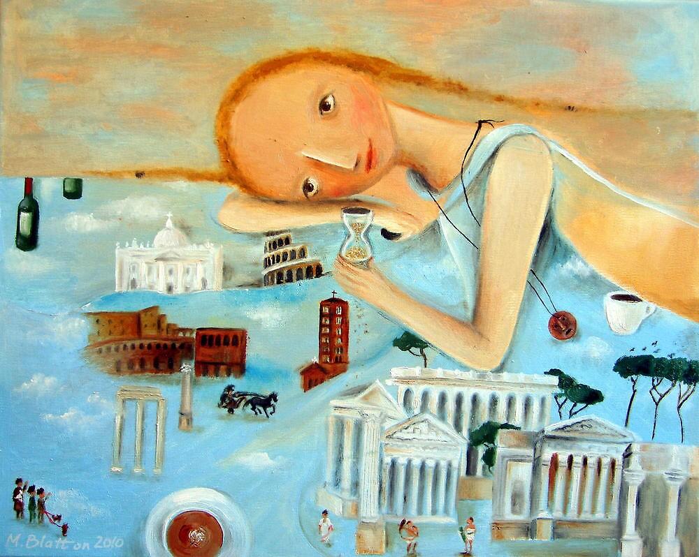 Memories of Rome by Monica Blatton