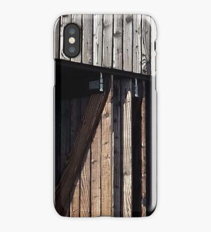 Wooden shack - near Falkirk, Scotland iPhone Case