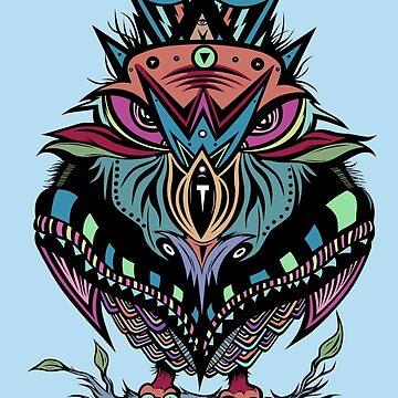 Owl Queen by sologfx