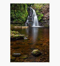 Tourmakeady waterfall Co. Mayo Ireland. Photographic Print