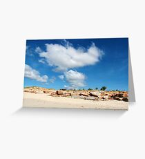 Cape Leveque Greeting Card