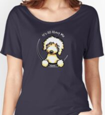 Yellow Labradoodle :: It's All About Me Women's Relaxed Fit T-Shirt
