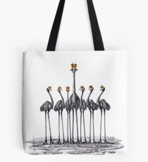 A Longneck and Six Stubbies (White) Tote Bag