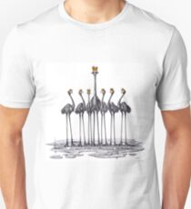 A Longneck and Six Stubbies (White) T-Shirt