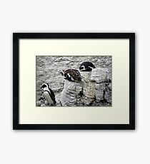 Mom, Dad and me ... Framed Print