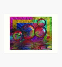Bubble Abstract Art Print
