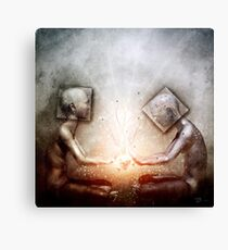 The Body And The Self Canvas Print
