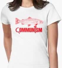 """Movie Clue """"Communism was just a red herring"""" Women's Fitted T-Shirt"""