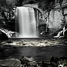 Looking Glass Falls by DHParsons