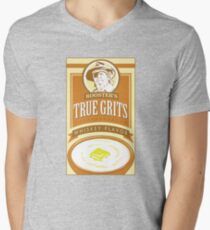 True Grits (Jeff Bridges) Mens V-Neck T-Shirt