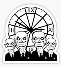 The Gentlemen Clocktower Sticker