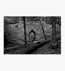 Old Stone Gothic Bridge Photographic Print