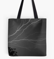 Cloud To Cloud Discharge #3. Tote Bag
