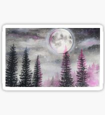 Magical Moon - Watercolor  Sticker