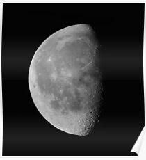 Luna . Landscape #1. Poster