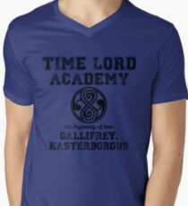 Time Lord Academy Men's V-Neck T-Shirt