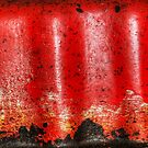 Rust On Red by Eve Parry