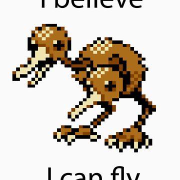 I Believe I Can Fly by UWLFC11
