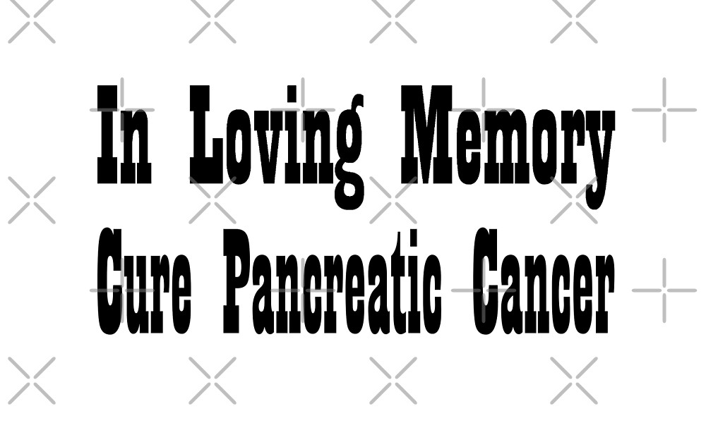Pancreatic Cancer by greatshirts