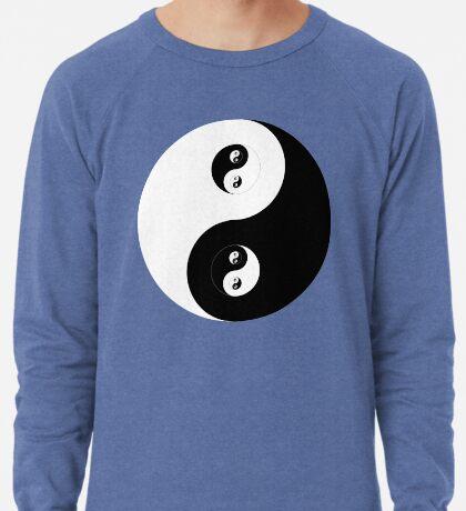 Ying Yang B&W Lightweight Sweatshirt