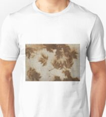 Brown maple leaf stains  Unisex T-Shirt