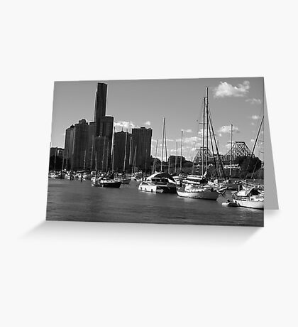 Riverside and Marina Greeting Card
