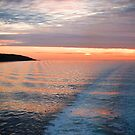 Sunset on the Sound of Mull by RayDevlin