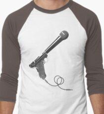 Word amplifier machine Men's Baseball ¾ T-Shirt