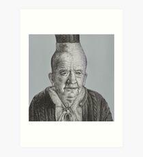 Doublemeat Palace - Wig Lady - BtVS S6E12 Art Print