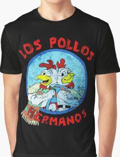 Los Pollos Hermanos Wink (retro) Graphic T-Shirt