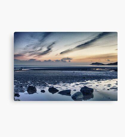 Solway Blues Sunset Canvas Print
