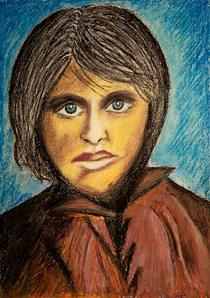Portrait of an Unknown Girl by olegprodeus