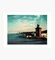 Port of Piran Art Print
