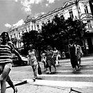 on crossing by Nikolay Semyonov
