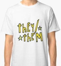 They/Them (pronouns) Classic T-Shirt