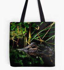Alligator Portrait #3. Three Lakes W.M.A. Tote Bag