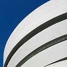 Guggenheim Museum Lines by Ellen  Hagan