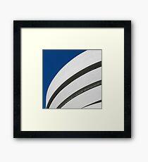 Guggenheim Museum Lines Framed Print