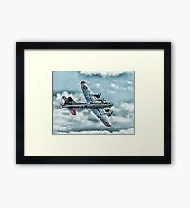 Yankee Lady on the Photo Pass Framed Print