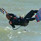 Kite Surfer by Tony Hadfield