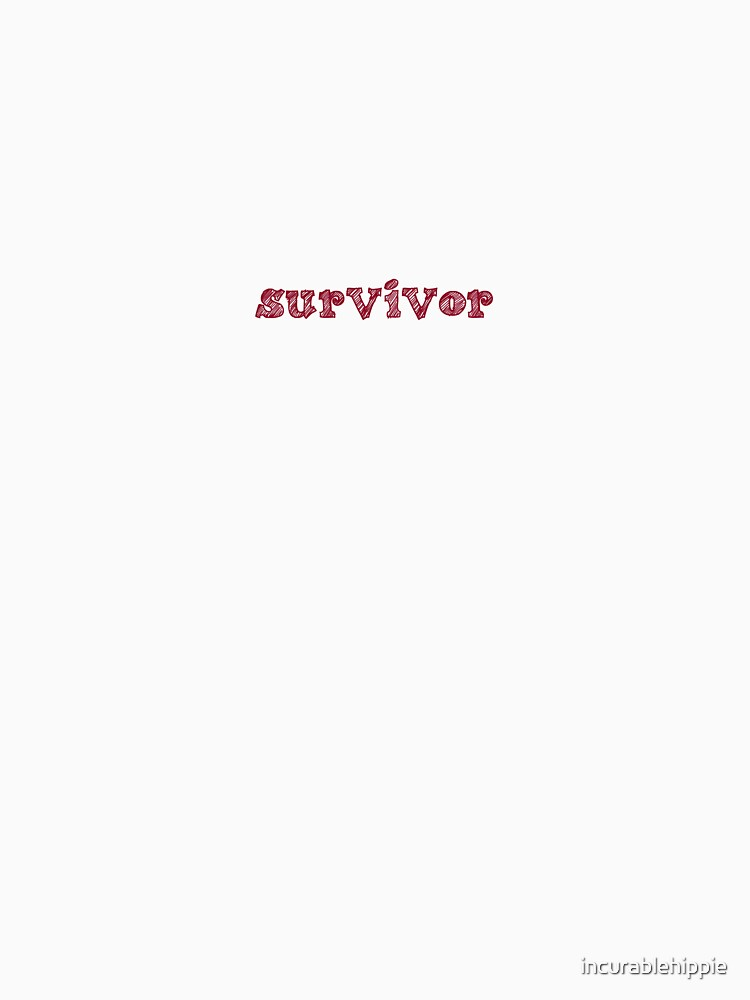 Survivor (Whispering) by incurablehippie