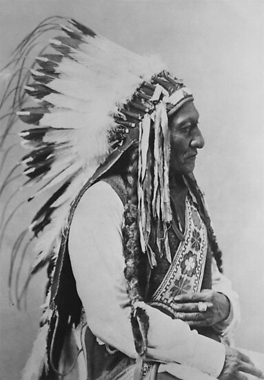 Chief Sitting Bull by warishellstore