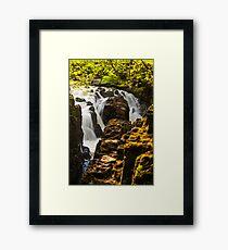 Falls of Braan 2.0 Framed Print