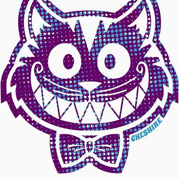 Cheshire Originals - Wildberry Halftone by CheshireGoMad
